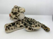 STEIFF Leopard liegend - Stofftier Kuscheltier Plüschtier Sammlerstück - Antik