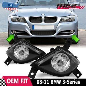 Fits 2008-2011 BMW 3 Series Sedan / Wagon E90 / E91 OE Replacement Fog Lights