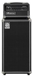 "Ampeg Micro-CL Stack Bass kompakt 100W 8 Ohm 2 x 10"" Speaker Pre-Amp FX EQ AUX"