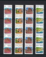 China Hong Kong 2018 COIL Definitive stamps x 5 Landscapes Global Geopark