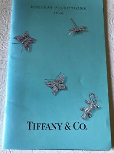 Vintage TIFFANY & CO. Holiday Selections 1996 CATALOG / BROCHURE