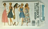 Butterick 6213 Misses Jacket Dress Culotte Size 14-18 OOP UNCUT Easy