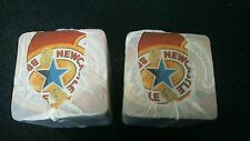 200 x Newcastle Brown Ale Carded Beer Mats new