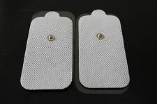 Bonus! Extra XL Replacement Electrode Pads (4) for PALM & ECHO Massager TENS