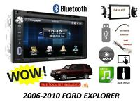 2006-2010 Ford Explorer Bluetooth touchscreen DVD CD USB CAR RADIO STEREO