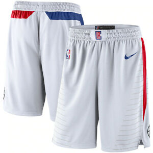 Nike 2021 Los Angeles Clippers Association Edition Swingman Performance Shorts