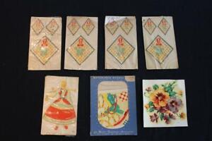 10 PCS. MISC SET OF VINTAGE 1930'S-1940'S  DECALS