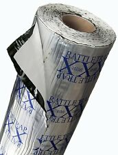 100 sq.ft FATMAT RATTLETRAP Thick Car/Van Sound Deadening Damping+Dynamat Roller