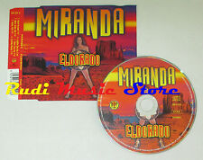 CD Singolo MIRANDA Eldorado 2000 eu UNIVERSAL 300 2122 DIY mc lp dvd vhs S5