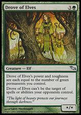 1x Drove of Elves Shadowmoor MtG Magic Green Uncommon 1 x1 Card Cards