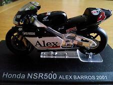 Ixo 1:24 Motorbike Honda NSR 500 Alex Barros 2001 - Rare