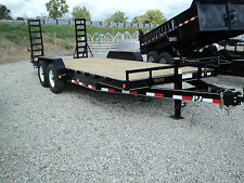NEW PJ 20 FT EQUIPMENT TRAILER 14K GVWR *ON SALE NOW* BEST DEALS @  DR TRAILER