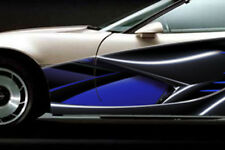 RACE CAR GRAPHICS Vinyl Decal IMCA Late Model SCCA 2011 Racing Side Stripes