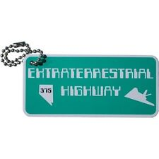 Extraterrestre (extra terrestre) highway voyage tag (travel bug) geocaching