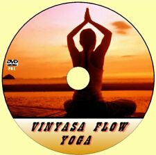LEARN VINYASA FLOW YOGA EASY TO FOLLOW BEGINNERS VIDEO DVD HEALTHY EXERCISE NEW