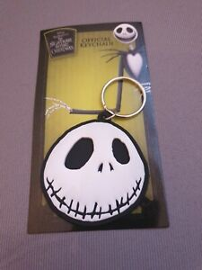 Nightmare Before Christmas Jack Skellington Rubber Keyring Key Chain Key Chain