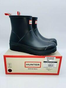 Hunter Women's Original Play Waterproof Rain Ankle Boots - Black