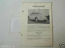 V7--VOLKSWAGEN VW KEVER BEETLE 1953 COACH,CABRIO ,TECHNICAL INFO CAR CLASSIC VIN