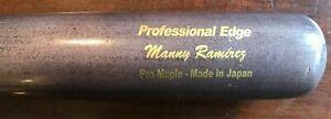 RARE 2009 SSK MANNY RAMIREZ  Game Used Bat LA Dodgers 500 home run club