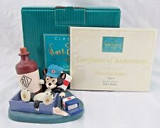 """WDCC """"First Aid Fiasco"""" Figaro from Disney's First Aiders in Box with COA"""