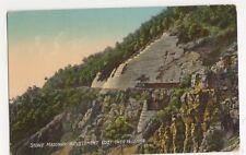 India, Stone Masonry Revetement, Cost over 1 1/2 Lakhs Postcard, B229