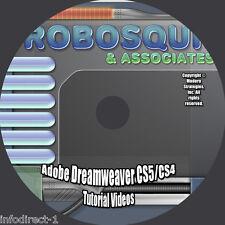 Adobe Dreamweaver CS5/CS4/CS3 Video Tutorial - 12 hours