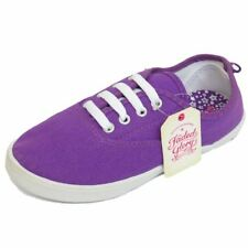 Chaussures violet à lacets en toile pour fille de 2 à 16 ans