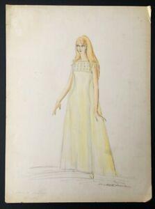 Jackie DeShannon Costume Design by Michael Travis Circa 1970 15x20