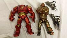 Marvel Legends Lot Hulkbuster Molten man and Mandroid BAF parts