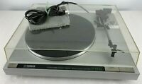 YAMAHA 200 SEMI AUTO TURNTABLE W/ BELT AT CARTRIDGE STYLUS TESTED