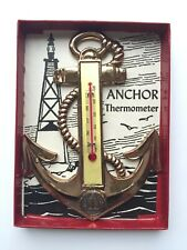 Vintage Anaconda Copper Mine Washoe Smelter Butte Montana Souvenir Thermometer