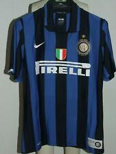 Maillot de Football Camiseta Inter 100 Anni Ibrahimovic 8 Taille M
