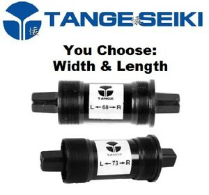 Choose Size Tange Square Taper Bottom Bracket Threaded 68 / 73mm Road MTB Bike