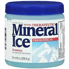Mineral Ice Pain Relieving Gel 8 oz (Pack of 2)