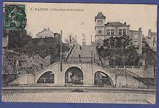 A17* Carte postale ancienne CPA (44- NANTES / L'escalier de Ste-Anne)