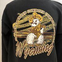 University Of Wyoming Cowboys Crewneck Sweatshirt - Vintage 90s - 2XL