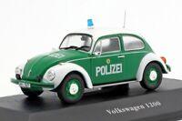 Volkswagen Beetle 1200 1977 Police car,Scale 1:43 by Atlas Editions