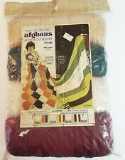 Knit or Crochet Afghan Kit Aronelle Nos