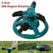 360 Degree Rotating 3-Arm Garden Sprinkler Automatic Lawn Watering System Kits