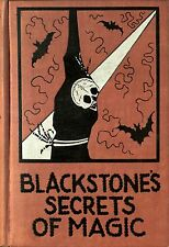 Blackstone Magic Secret Tricks Occult Illusion Stage Act Sorcery Magician Black
