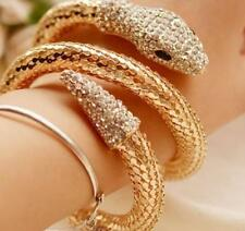 Betsey Johnson Jewelry rhinestone Snake golden charm women Multi-layer bracelets