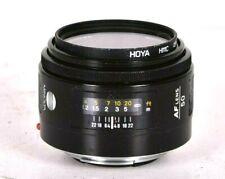 Minolta Maxxum AF 50mm f/1.7 prime lens for Minolta A-mount cameras