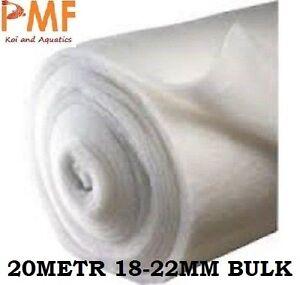 20 Metre 69cm Koi Pond tank Aquarium External Filter Wool Floss 18-22 mm 200 GSM