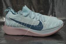 Nike Zoom Fly Flyknit Women's Training Running Shoes Glacier AR4562-068 Sz 7