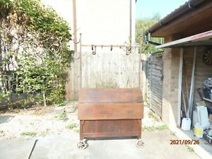 19th Century Antique  Pine Tack Saddle Horse with wrought iron frame