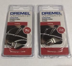Dremel 202 VersaTip Cutting Knife (2 Pack) Brand New Factory Package