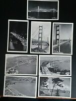 Postcards- Vintage Rare Golden Gate Bridge San Francisco CA - c. 1930's-1940's