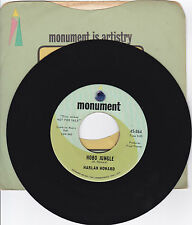 HARLAN HOWARD-MONUMENT 864 & 919 PROMOS 2 COUNTRY 45'HOBO JUNGLE-ANOTHER BRIDGE