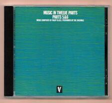 RARE CD ★ PHILIP GLASS - MUSIC IN TWELVE PARTS 5 ,6 ,7 & 8 ★ ALBUM