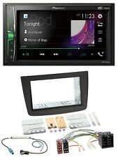 PIONEER 2din mp3 DAB USB BLUETOOTH AUTORADIO PER ALFA ROMEO MITO 08-14 955 S ISO